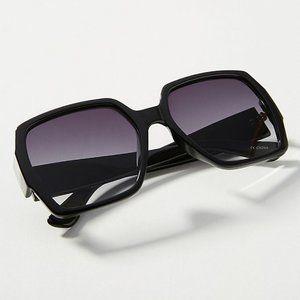 ANTHROPOLOGIE Claudia Oversized Sunglasses NWT